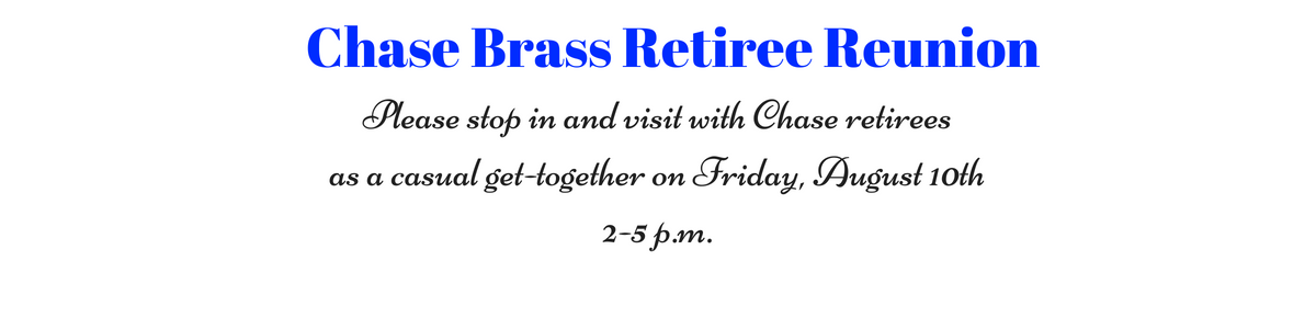 Join Us for a Retiree Reunion!